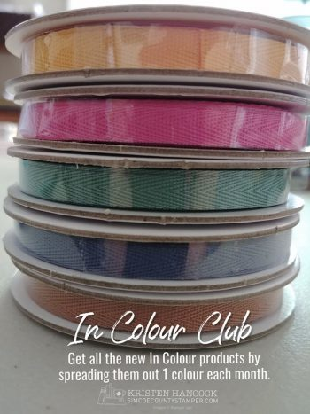 NEW In Colour Club starts in June