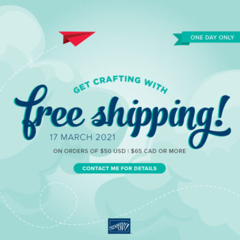 FREE Shipping – 1 Day Only