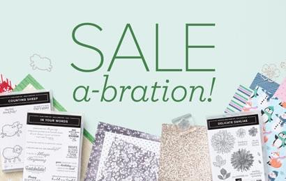 2nd Sale-A-Bration on now!